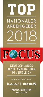 "Awarded ""Best domestic employer 2018"" by Focus magazine"