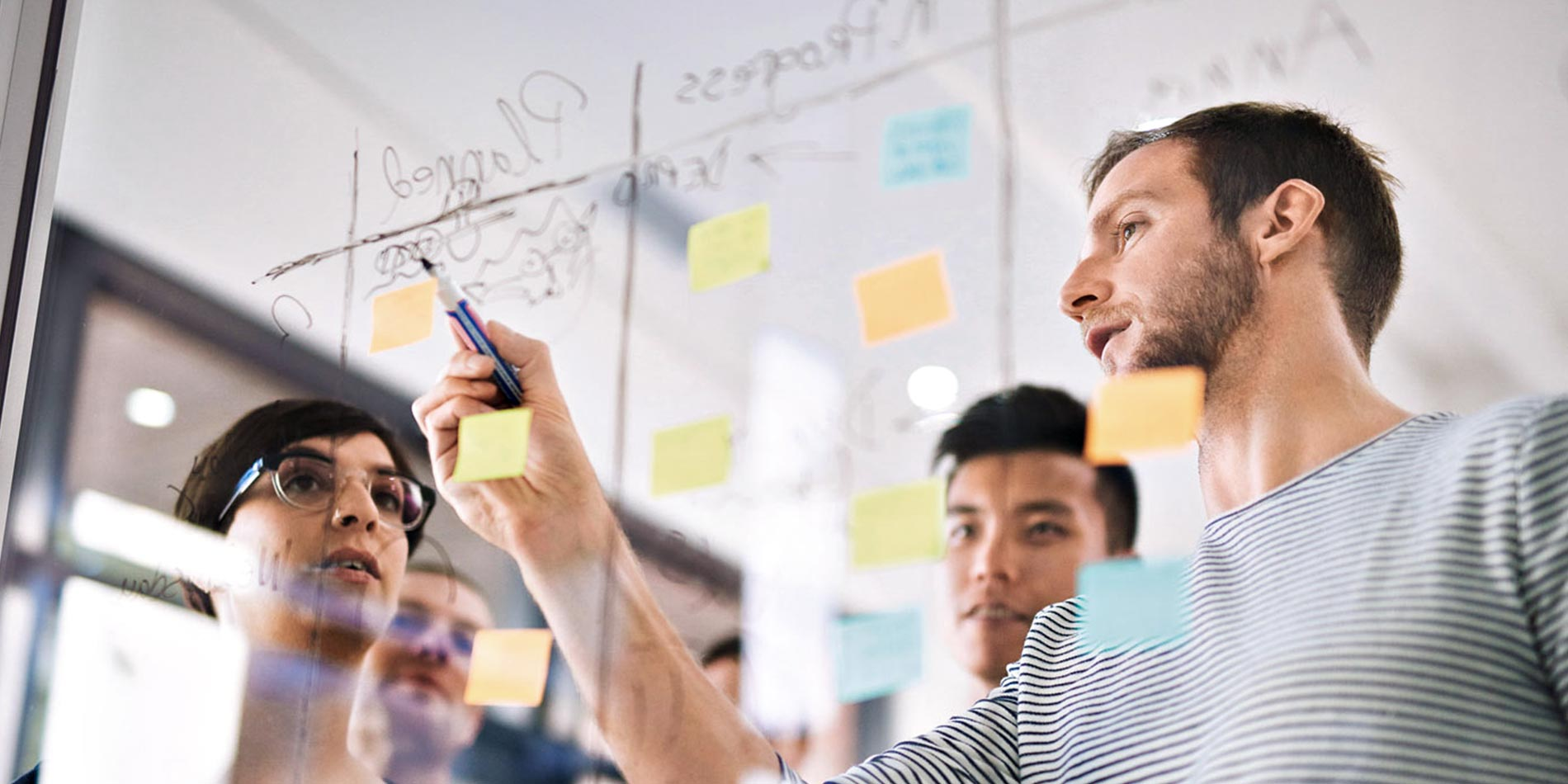 Agiles Arbeiten bei Strategy & Consulting
